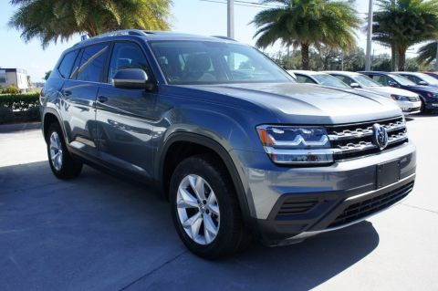 Certified Pre-Owned 2018 Volkswagen Atlas 3.6L V6 Launch Edition FWD Sport Utility