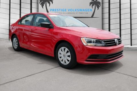 Pre-Owned 2015 Volkswagen Jetta Sedan 2.0L S w/Technology