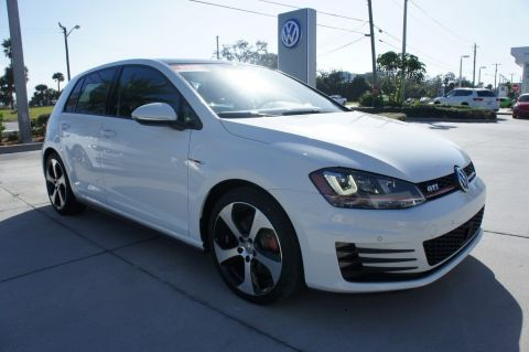 Certified Pre-Owned 2015 Volkswagen Golf GTI Autobahn FWD Hatchback