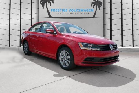 Certified Pre-Owned 2015 Volkswagen Jetta Sedan 1.8T SE w/Connectivity