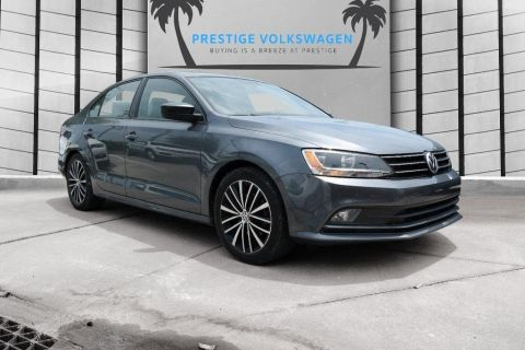 Pre-Owned 2015 Volkswagen Jetta Sedan 1.8T Sport