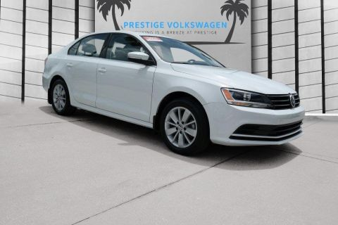 Certified Pre-Owned 2015 Volkswagen Jetta Sedan 1.8T SE W/CONNECT