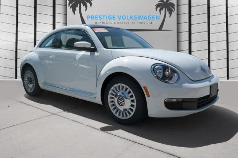 Certified Pre-Owned 2015 Volkswagen Beetle Coupe 1.8T w/Sun