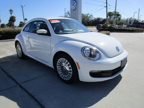 Certified Pre-Owned 2015 Volkswagen Beetle Coupe 1.8T FWD Hatchback