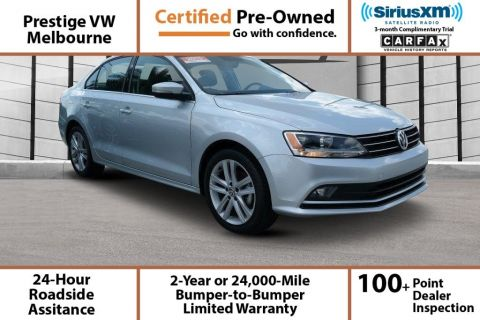 Certified Pre-Owned 2015 Volkswagen Jetta 1.8T SEL FWD 4dr Car