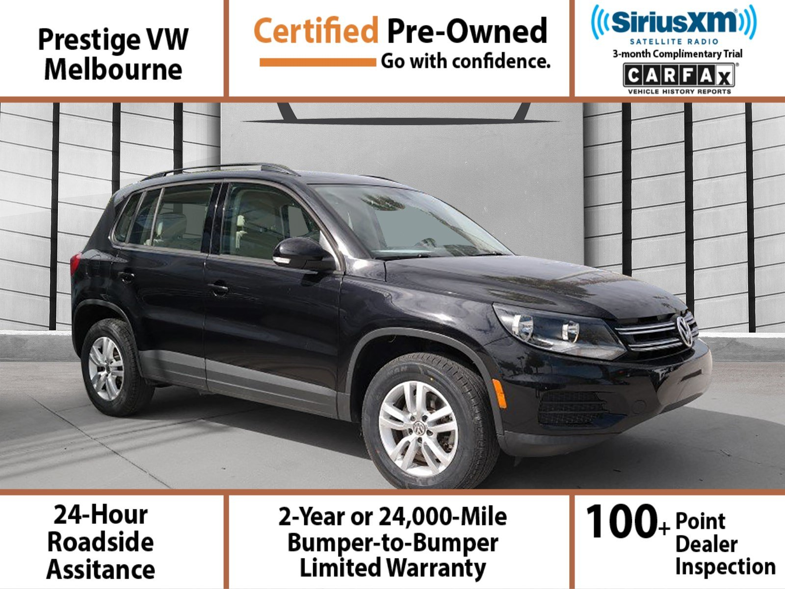 Certified Pre-Owned 2016 Volkswagen Tiguan S 4dr Front-wheel Dr