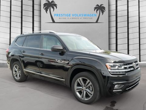 New 2019 Volkswagen Atlas V6 SEL with 4MOTION® R-Line With Navigation & AWD