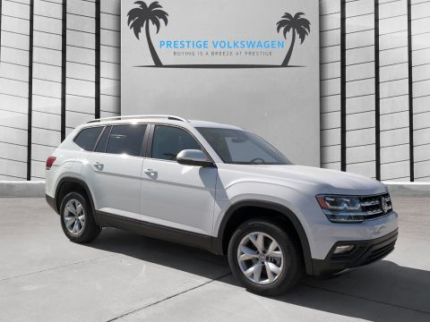 New 2019 Volkswagen Atlas 3.6L V6 SE w/Technology AWD