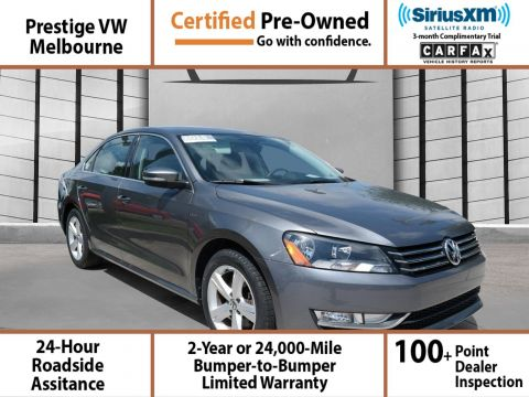 Certified Pre-Owned 2015 Volkswagen Passat 1.8T LIMITED EDIT FWD 4dr Car
