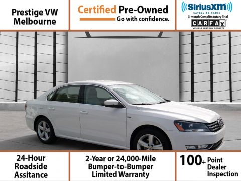 Certified Pre-Owned 2015 Volkswagen Passat 1.8T LIMITED EDIT