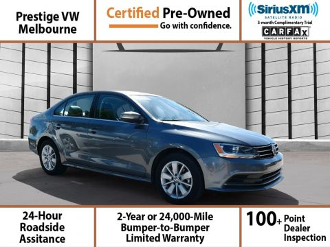 Certified Pre-Owned 2015 Volkswagen Jetta w/Connectivity