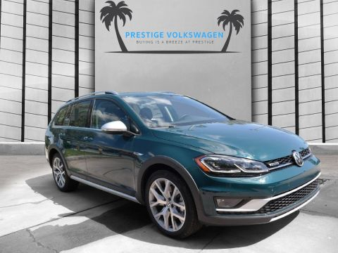 New 2019 Volkswagen Golf Alltrack SEL AWD