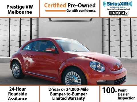Certified Pre-Owned 2016 Volkswagen Beetle Coupe SE