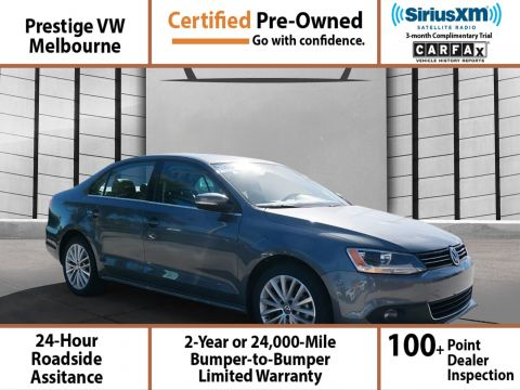 Certified Pre-Owned 2014 Volkswagen Jetta Sedan SEL