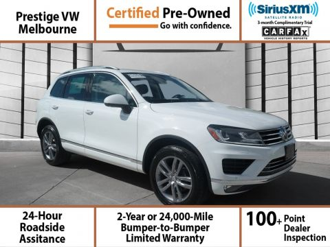 Certified Pre-Owned 2015 Volkswagen Touareg Lux